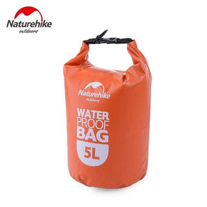 Survival Jungle Tasche 5L Orange Ultraleichter wasserdichter Camping Beutel