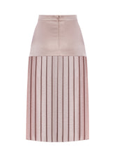Load image into Gallery viewer, CINDY UZN - Pleated Midi Skirt