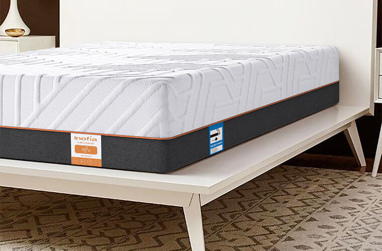 Inofia 22 CM Double Gel Memory Foam Mattress