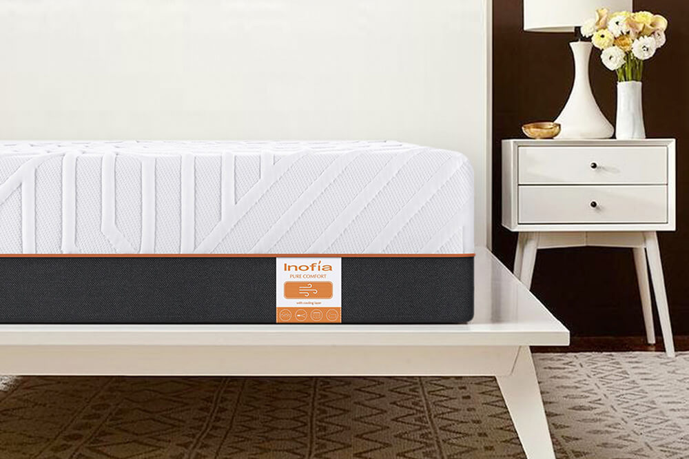 Inofia 8.6 Inch Double Gel Memory Foam Mattress
