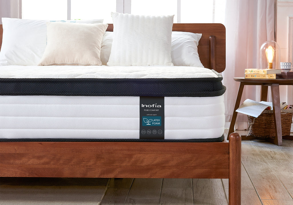 Inofia Double Latex Memory Foam Mattress with Spring