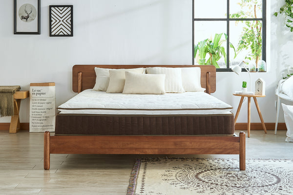 Inofia 7 Zone Memory Foam and Spring Mattress