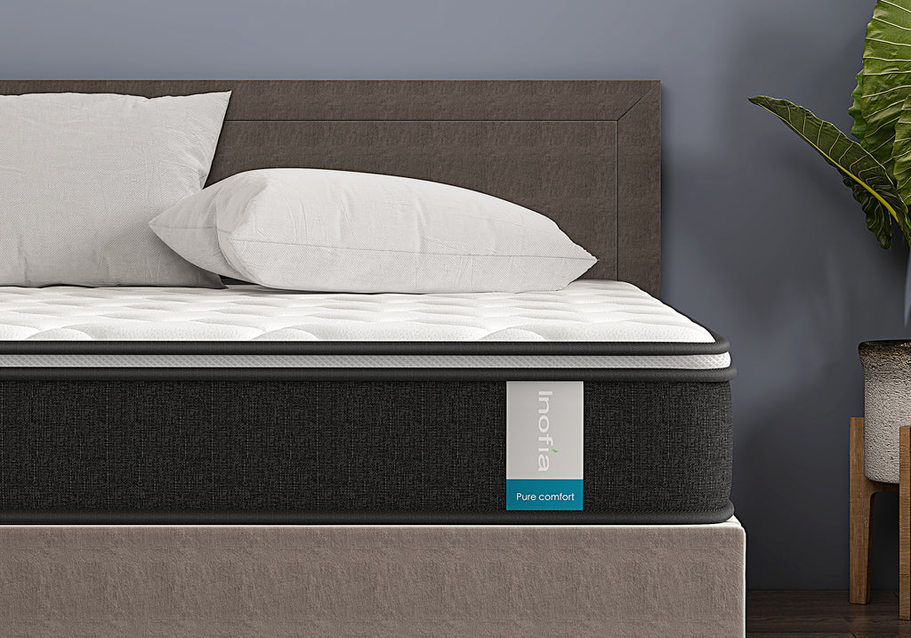 Double & UK King Size Memory Foam Pocket Sprung Hybrid Mattresses
