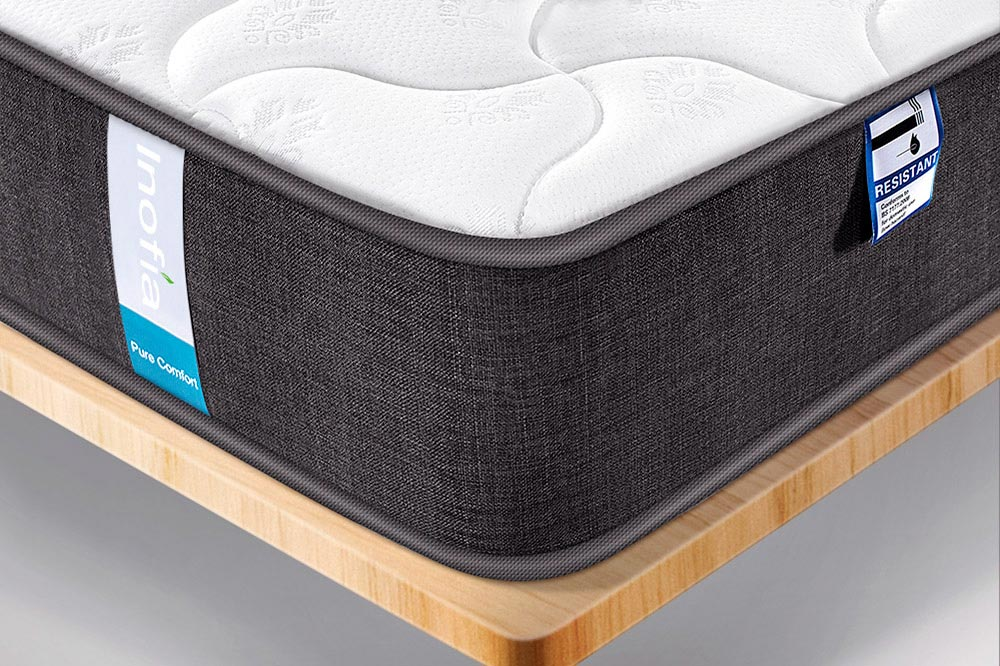 Inofia Pocket Springs Mattress | 7-Zone Support System | 8.7 Inch Depth