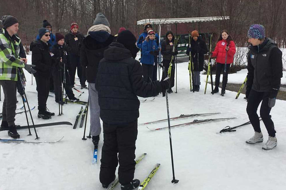 Group Nordic Ski Lessons - Scenic Caves Nature Adventures