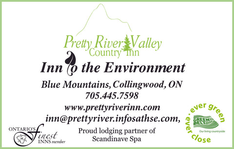 Pretty River Country Inn Contact Card