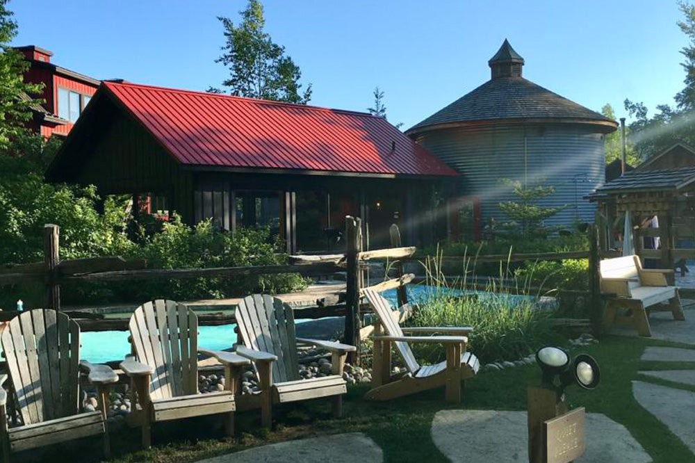 Relax and unwind at Scandinave Spa - Blue Mountain
