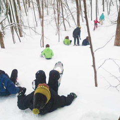Snowshoe Tour - Nordic School Group - Scenic Caves, Blue Mountains