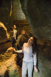 Exploring caves, caverns, crevasses - Scenic Caves Nature Adventures - Blue Mountains