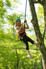 Ziplining through the forest - Scenic Caves Nature Adventures - Blue Mountains