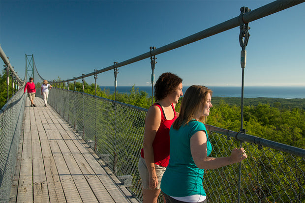 Suspension Bridge - Scenic Caves Nature Adventures