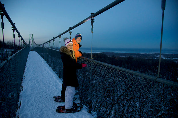 Romantic Night Snowshoe - Scenic Caves Nature Adventures - Collingwood