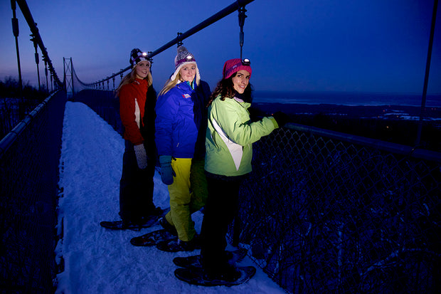 Guided Night Snowshoe Hikes - Scenic Caves Nature Adventures - Blue Mountains
