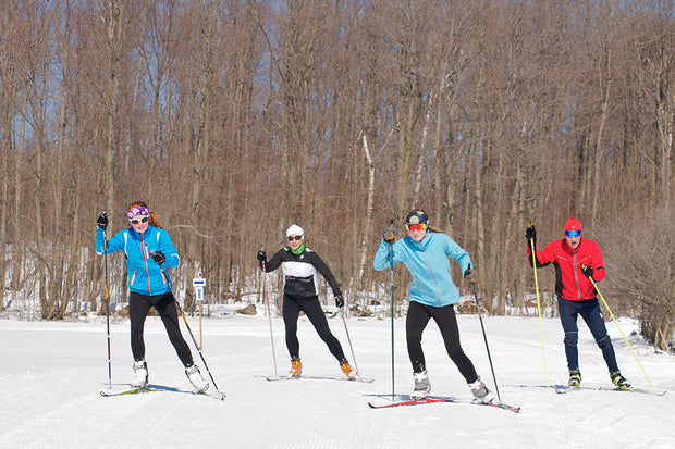 Groomed Skate Ski Trails - Scenic Caves, Collingwood