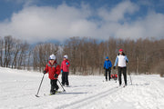 Family Adventures - Cross Country Skiing - Scenic Caves, Collingwood
