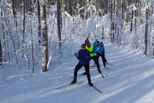 Skate Ski lessons - Scenic Caves Nature Adventures - Blue Mountains