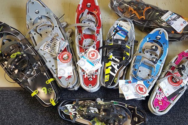 Snowshoes and Cross Country Skis for sale in our Nordic Pro Shop