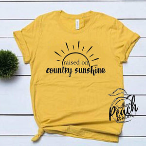 Raised On Country Sunshine
