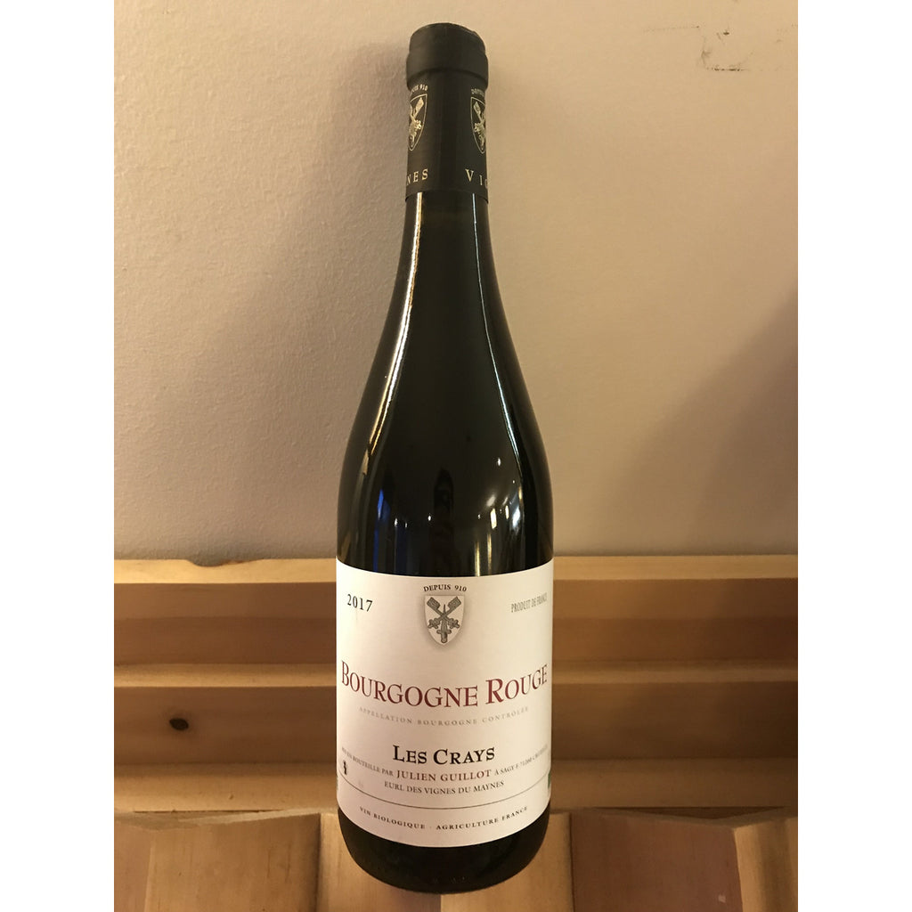 Julien Guillot Les Crays Bourgogne Rouge 2017