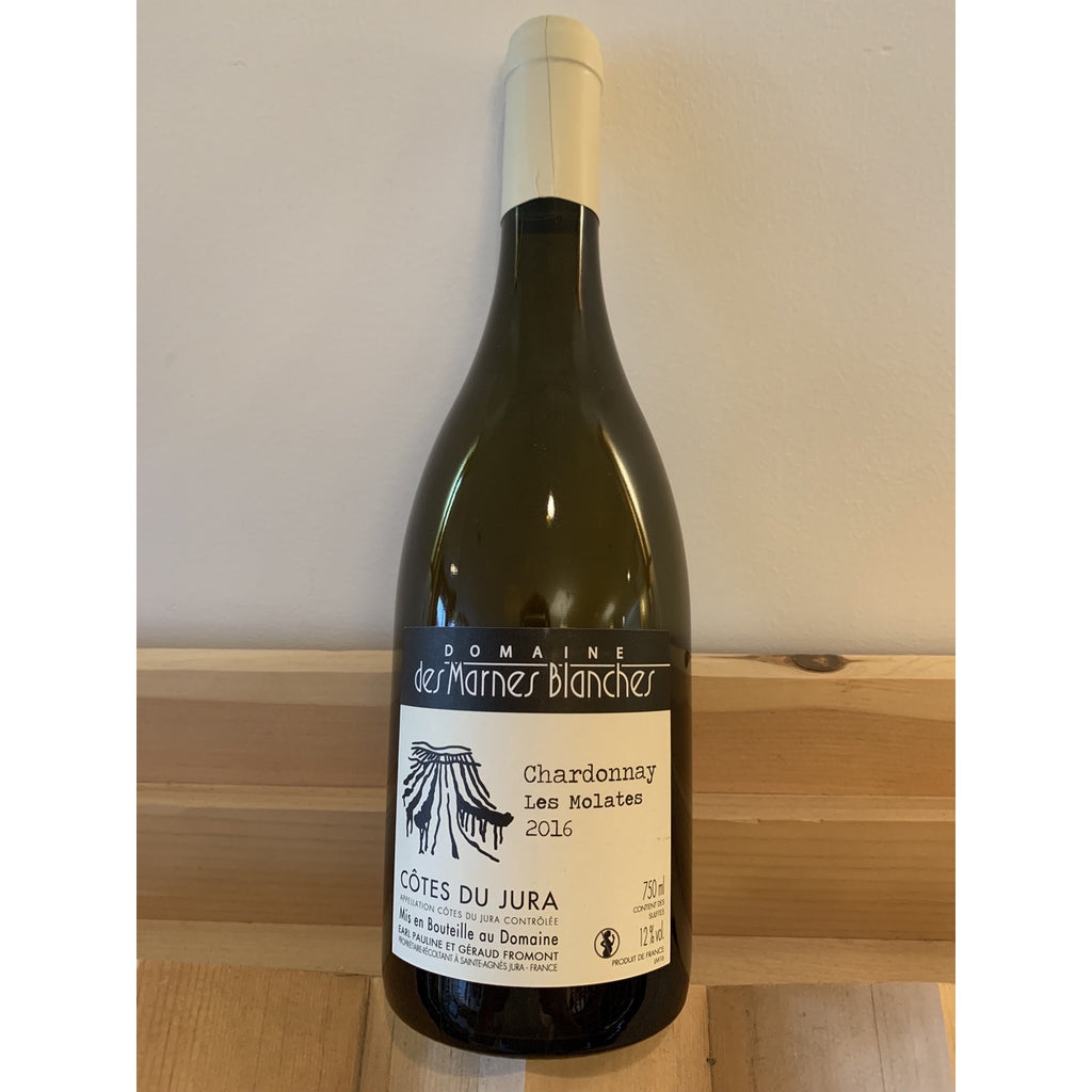 Marnes Blanches Chardonnay Molates 2016