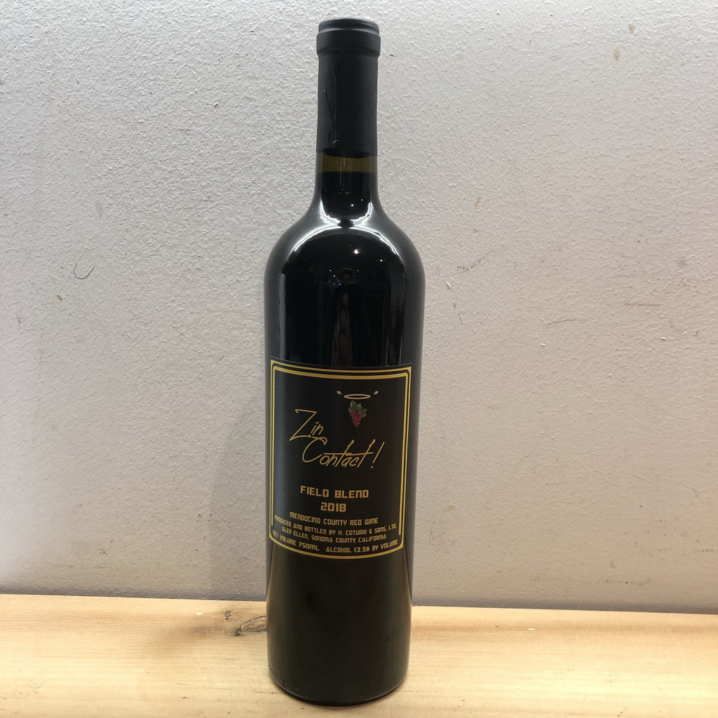 "Sonoma Mtn Winery, ""Zin Contact!"" 2018"