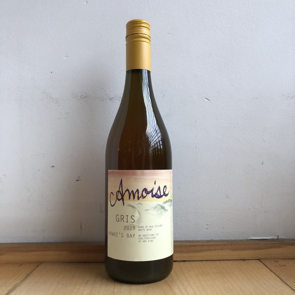 Amoise, Skin-Fermented Pinot Gris 2019