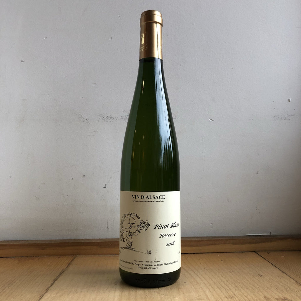 Jean-Francois Ginglinger Pinot Blanc Reserve 2018