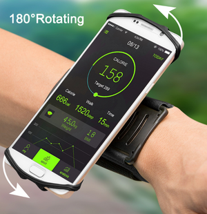 180 Degree Rotatable Running Wrist Strap For Smart Phones