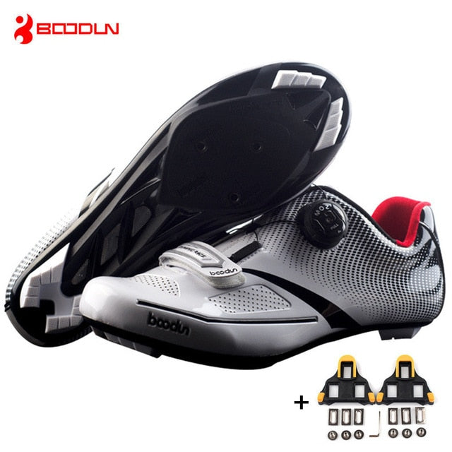 Ultralight Self-Locking Men's Cycling Shoes
