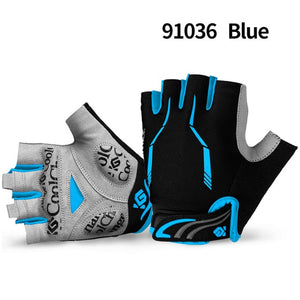 Half Finger Breathable Shockproof Cycling Gloves