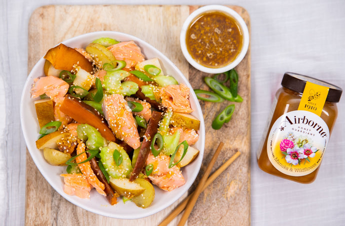 Ponzu Roast Salmon Recipe