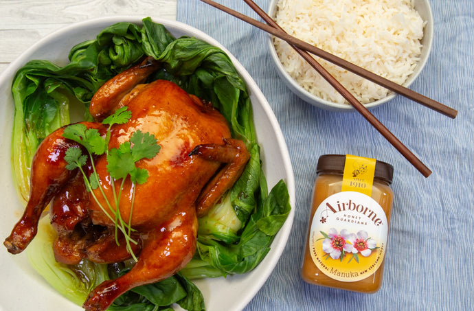 Sticky Asian Roast Chicken Recipe