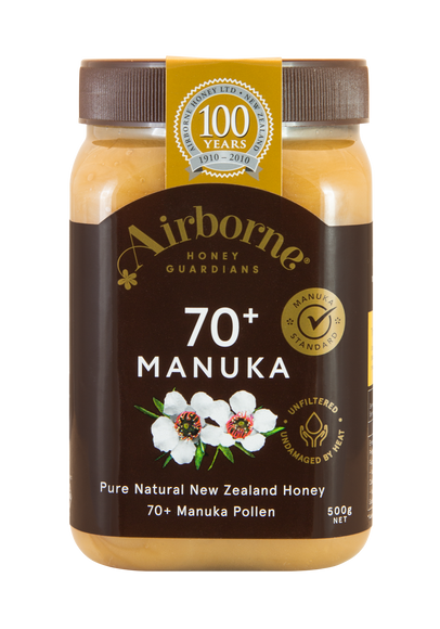 Airborne 70+ Manuka Honey
