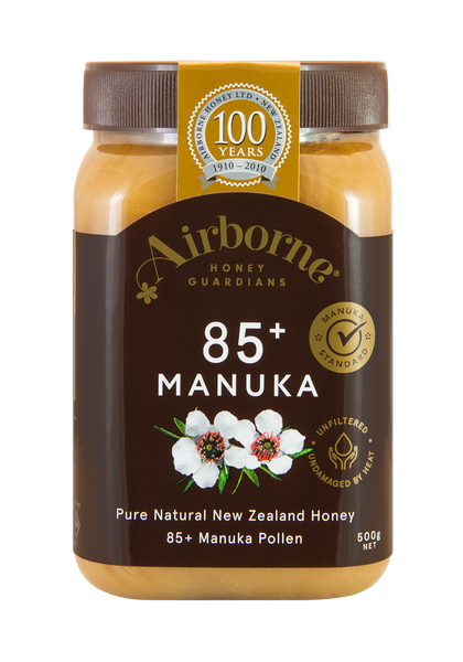 Airborne 85+ Manuka Honey