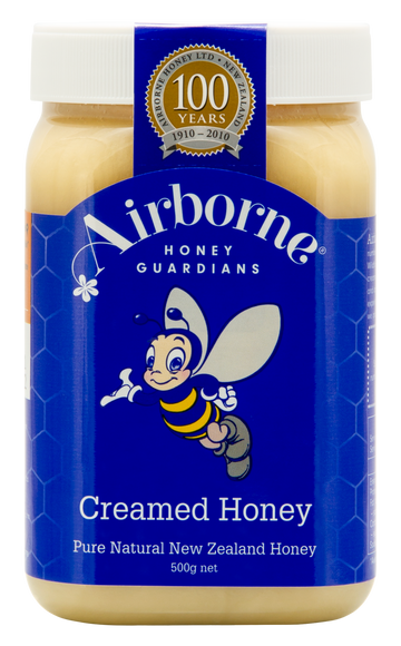 Airborne Creamed Honey Front
