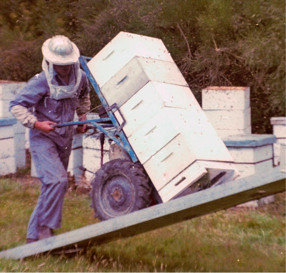 Our Story Getting Hives on Truck - Airborne Honey