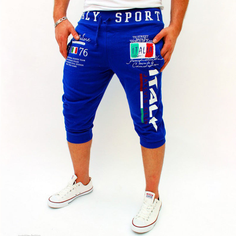 Men's Sports Trousers Digital Print Design Sweatpants