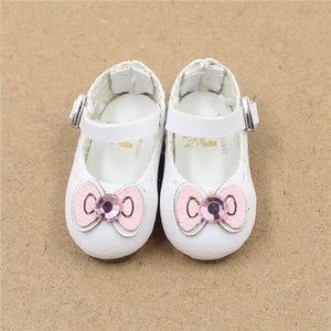 Blyth doll shoes cat bow 2.5cm