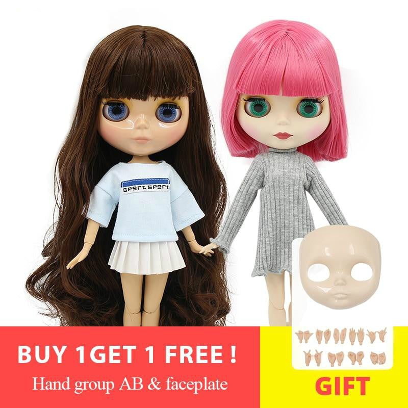 ICY Blyth doll 1/6 BJD special offer special price, faceplace and hands AB as gifts