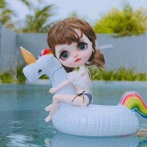 Blyth doll Cute Swimming Float