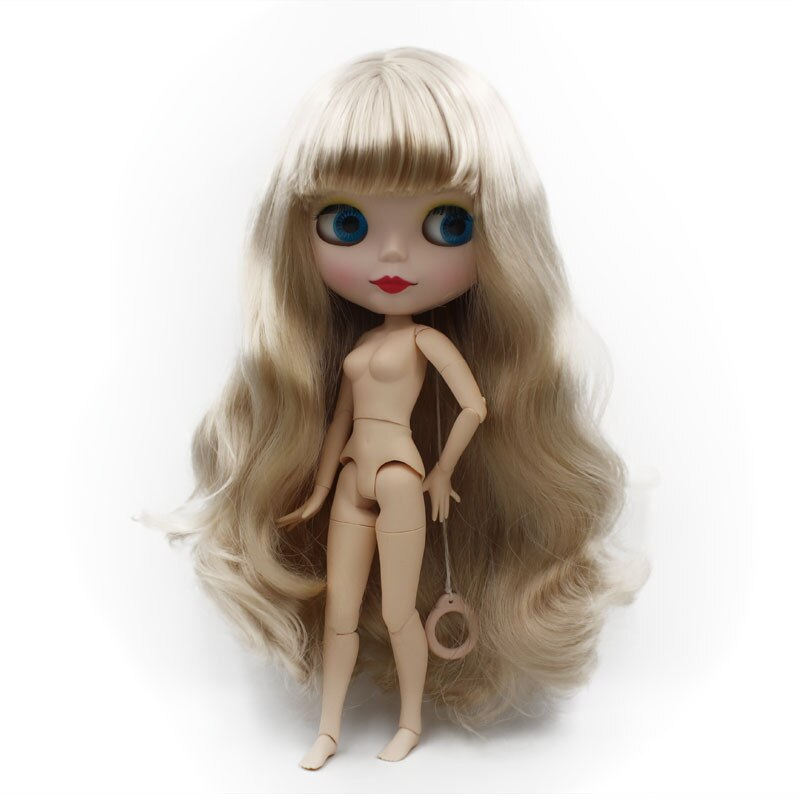 Factory Neo Blyth Doll Customized Matte Face,1/6 Ball Jointed BJD Doll