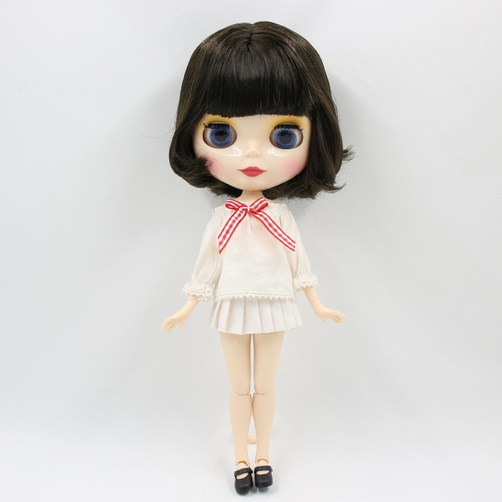 Blyth doll bjd naked doll normal/joint body bjd 30cm hands AB as gift