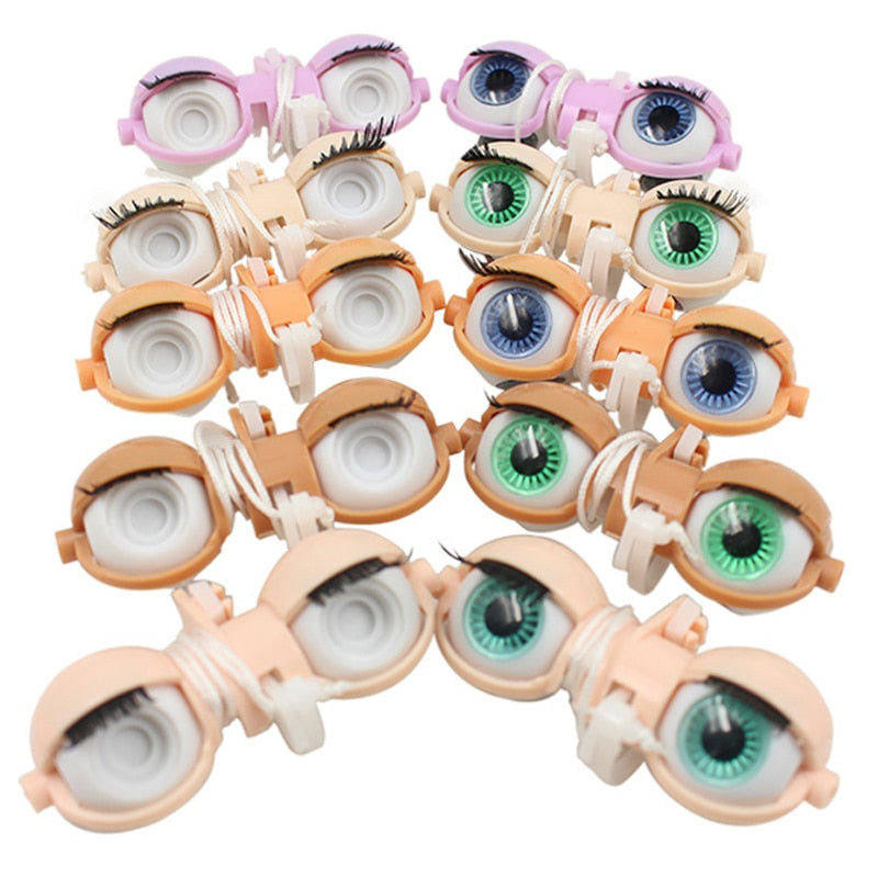 Blyth doll C-bar eyechips pupils 4 color
