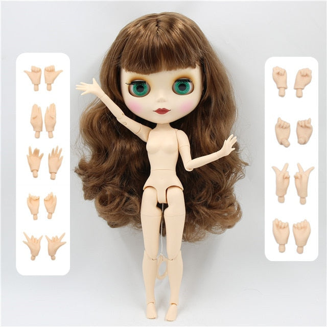 Factory Neo Blythe Doll Colorful Hair Regular & Jointed Body 30cm