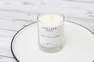 Mini Green Tea & Lemon Candle