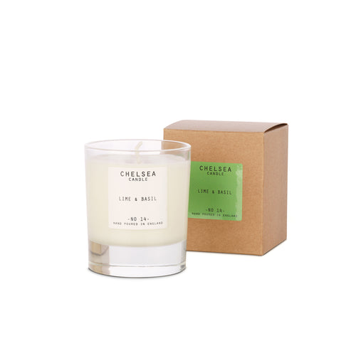 Medium Lime Basil Candle