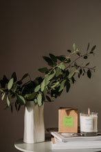 Load image into Gallery viewer, Large Lime Basil Candle
