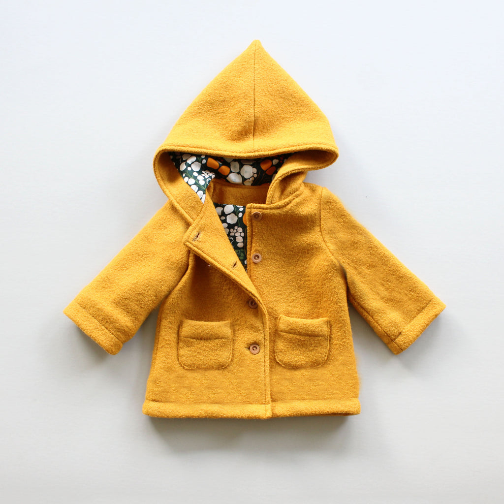 Pixie Hood Coat Pattern