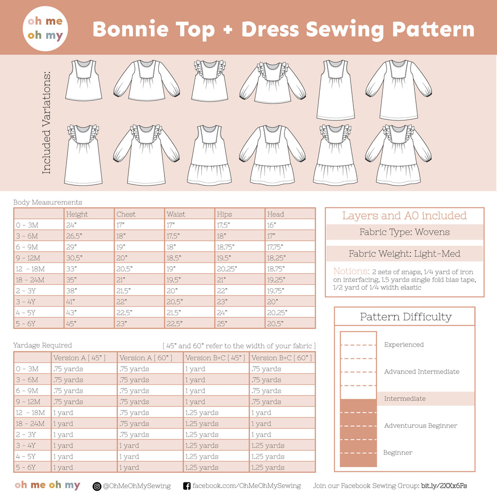Bonnie Dress Pattern