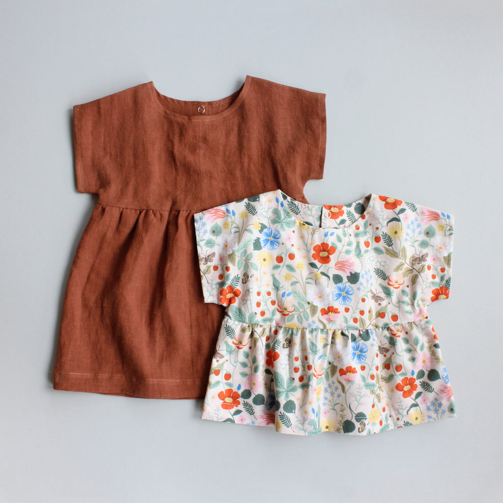 Nora Dress + Top Pattern